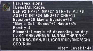 Haruspex Slops