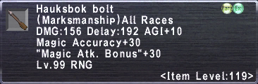 Hauksbok Bolt