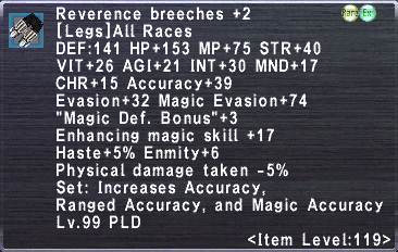 Reverence Breeches +2