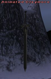 Animated Claymore
