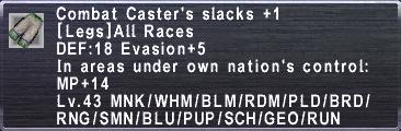 CombatCastersSlacks +1