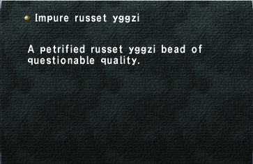 Impure russet yggzi