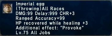 75 - Imperial egg