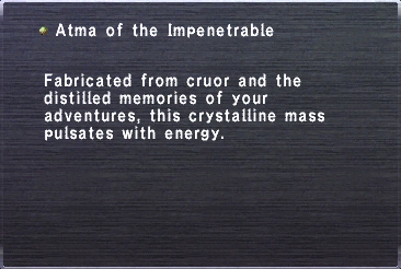 Atma of the Impenetrable