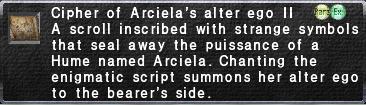 Cipher-Arciela II