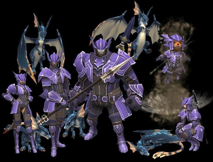 Drachen Armor Set | FFXIclopedia | FANDOM powered by Wikia
