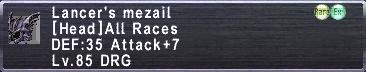 Lancer's Mezail