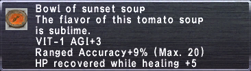 Sunset Soup