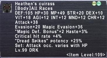 Heathen's Cuirass
