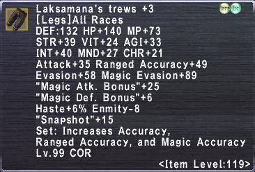 Laksamana's Trews +3