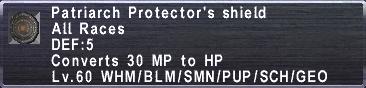 Patriarch Protector's Shield