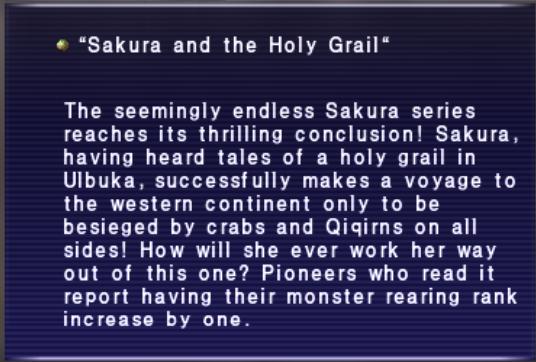 Sakuraandtheholygrail