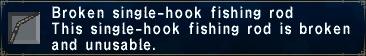 Broken Single-Hook Rod
