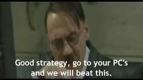 Hitler fails Ode of life bestowing