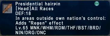 PresidentialHairpin