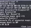 Spaekona's Coat +1