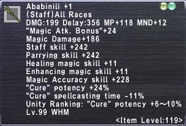 Ababinili +1