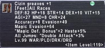 Cizin Greaves +1