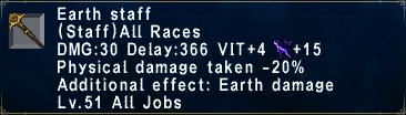 Earth Staff