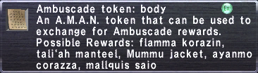 Ambuscade Token Body