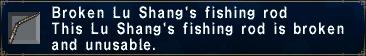 Broken Lu Shangs Rod