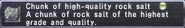 Chunk of high-quality rock salt