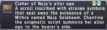 Cipher Naja