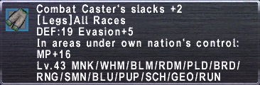 CombatCastersSlacks +2