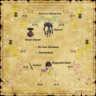More Detailed Ve'Lugannon Palace Map