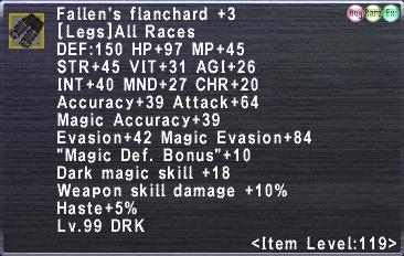 Fallen's Flanchard +3