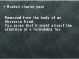 Rusted Chariot Gear