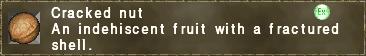 Cracked nut