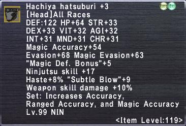 Hachiya Hatsuburi +3