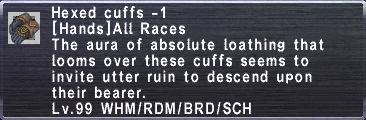 Hexed cuffs -1