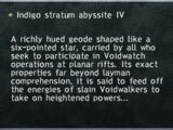 Indigo Stratum Abyssite IV