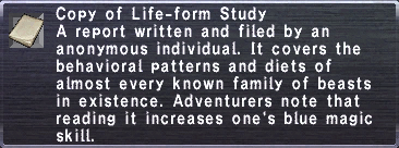 Life-form Study
