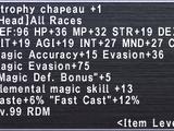 Atrophy Chapeau +1