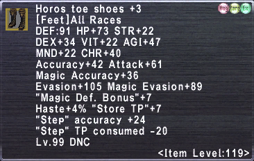 Horos toe shoes +3