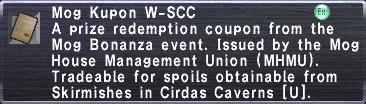 Kupon W-SCC