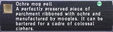 Mog Pell (Ochre)