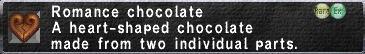 Romancechocolate