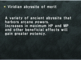 Viridian Abyssite of Merit