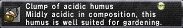 Acidic Humus