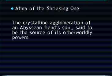 Atma of the Shrieking One