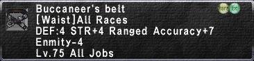 Buccaneers Belt
