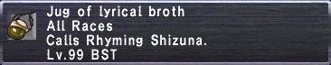 Lyrical Broth