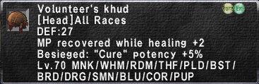 Volunteer's khud