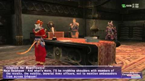 «FFXI-Movie» 0408 ToAU 46 - Imperial Coronation