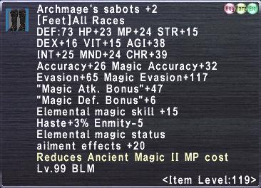 Archmage's sabots +2