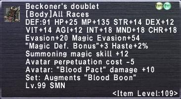 Beckoner's doublet